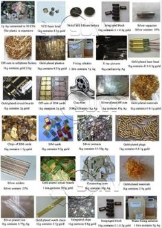3 oz of computer pins Scrap Refining lot Gold Recovery// refining