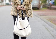Zara trf leopard faux fur coat animal print h&m denim jeans oversized boyfriend shirt black skinny jeans asos perforated mesh dialog golden ...