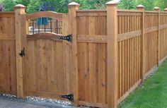 fence designs | ... Fence: Elegant Privacy Fence Designs – Home Design Ideas | Interior