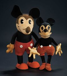 Love, Shirley Temple, Collector's Book: 211 Two Early Cloth Mickey Mouse Dolls from the Shirley Temple Collection
