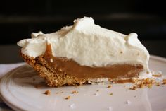 Salted Caramel Pie, recipe out of Bon Appetit... Favorite Thanksgiving dessert!