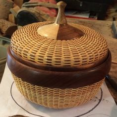 Kamaya's Joy Nantucket Basket by Joni and David Ross