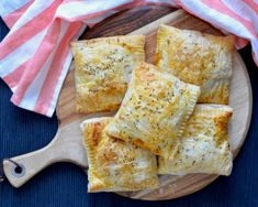 Recipe: Curried Vegetable Hand Pies Curry Paste, Plum Pie Recipe, Puff Pastry Sheets, Canned Coconut Milk, How To Can Tomatoes, Frozen Peas, Hand Pies, Side Salad