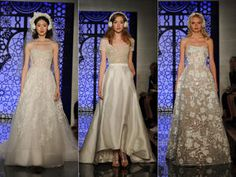 Amsale Nouvelle Fall 2017 will give you major wedding dress inspo—see every elegant look here.