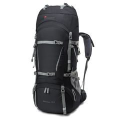 Mountaintop [2016 NEW] 70L+10L Internal Frame Backpack Water-resistant US STOCK! #MountaintopAdventure