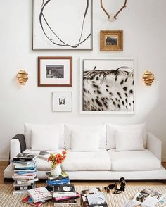 shake up your gallery wall with sconces for added illumination and dimension. Delfina features a boldly elegant steel ribbon available in Deluxe Gold or Metallic Matte Bronze. This organic shape is both visually intriguing and pleasing as the light flows gently across the overlapping bands.  #hinkleystyle #lighting #interiorlighting #interiordecor #interiorstyle #interiorinspo #homedecor #homeinspo #homedesign #homestyle #homelighting #gallerywall Hinkley Lighting, Wall Sconce Lighting, Wall Sconces, Interior Lighting, Home Lighting, Interior Decorating, Interior Design, Decoration, Architecture
