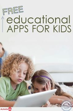 FREE Educational Apps for Kids. Yeah!  Love this inspired and sponsored by #LifeonFios