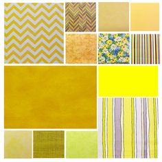 Just an example of some of the YELLOW f fabrics available at  www.PushPinsAndFabricCorkBoards.com  to make a custom, unique, FABRIC COVERED CORK BULLETIN BOARD to match your decor, as a gift to someone who loves YELLOW, or, be creative and make a collage of beautiful Yellow wall art in four standard sizes.  Add coordinating or contrasting message ribbons and Top it off with matching or DECORATIVE PUSH PINS in the Decorative Push Pins department.