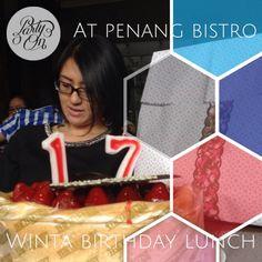 Birthday lunch   #madewithstudio