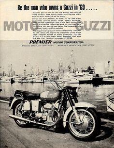 1969 Moto Guzzi ad