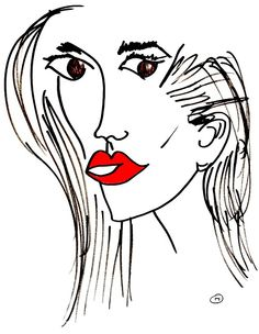 belle BRUT sketchbook: #joansmalls #fashion #illustration #blindcontour © belle BRUT 2014 http://bellebrut.tumblr.com/post/93654207810/belle-brut-sketchbook-joansmalls-fashion