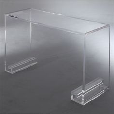 Grace Lucite Console Table - Small 42   Tonic Home
