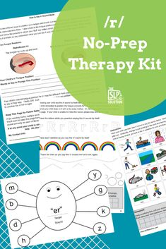 Working on the /r/ sound with your students? /r/ is extra tricky, but no fear! We've got you covered with our no-prep  /r/ speech therapy activities.