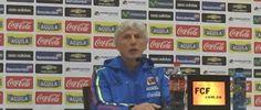 El técnico de la Selección Colombia destacó el nivel de los jugadores que trae Argentina, dijo que Helibelton Palacios está preparado para jugar y remarcó que la Selección sigue con un proceso de transición. Noviembre 16, 2015.