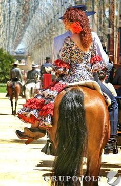 The Jerez Horse Fair in Andalucía, Spain...  http://www.costatropicalevents.com/en/cultural/festivals.html