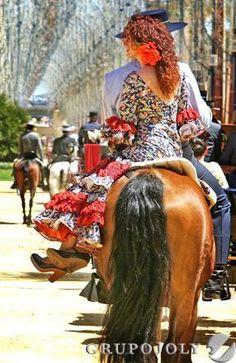 The Jerez Horse Fair in Andalucía, Spain...  http://www.costatropicalevents.com/en/cultural/festivals.html