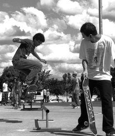 #skate #sk8 #blackandwhite