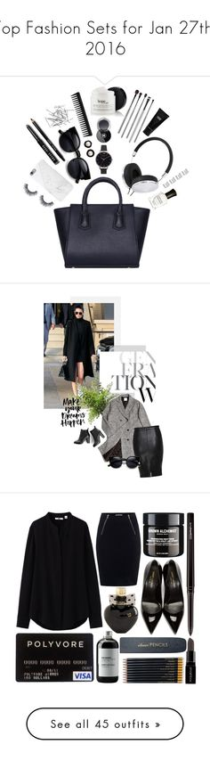 """""""Top Fashion Sets for Jan 27th, 2016"""" by polyvore ❤ liked on Polyvore featuring Native Union, Deborah Lippmann, Bobbi Brown Cosmetics, Frends, Olivia Burton, Maison Margiela, GHD, Chanel, esum and Monki"""