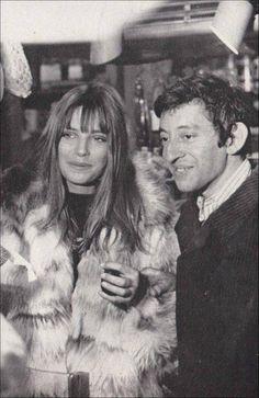 """Jane Birkin"""" & Serge Gainsbourg ...."""