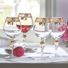 must get the wine glasses if i get the dishes