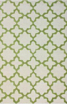 Rugs USA Tuscan Terali Moroccan Trellis Green Rug, 100% Wool, Handmade, Contemporary Rugs Transitional, home decor, home design.