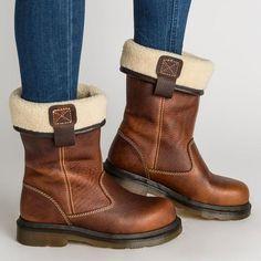 Fashion Comfortable Women Low Heel Boots