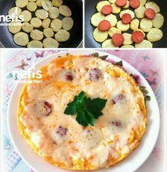 Patates Pizzası (10 Dakikada) Malzemeler 1-2 adet patates 3-4 yemek kaşığı sıvı yağ 3 adet yumurta Dilimlenmiş sucuk Kaşar peyniri (Rendelenmiş) Tuz, p... - f. özbağ - Google+