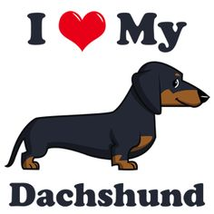daushaund cartoon pictures | Our store is powered by CafePress and offers products such as t-shirts ...