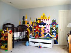 Merryweather's Cottage: It's A Small World Kids Room: Wall Mural