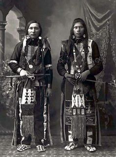 Ralph Willet Dixey (Bannock tribe ), Peter Jim (Shoshone tribe ) - 1897