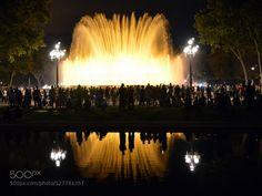 Magic Fountain of Montjuïc by ortisfarre #fadighanemmd