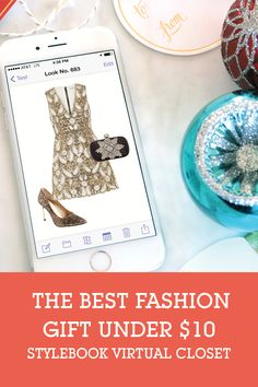 How to send the fashion lover in your life Stylebook, a virtual closet for their real wardrobe. When you know a fashionista that has it all, give them a way to keep track of it!