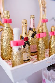 Pink and Glitter Bridal Shower