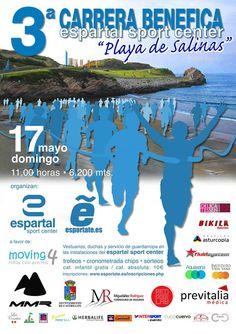 III Carrera Benéfica Playa de Salinas  17 de mayo 2015 Sport, May 17, Racing, Beach, Events, Sports, Deporte