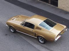 1968 Ford Mustang fastback Maintenance of old vehicles: the material for new cogs/casters/gears/pads could be cast polyamide which I (Cast polyamide) can produce