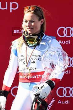 Is Lara Gut the hottest woman World Cup skier in the world in (Photos) Ski Sunday, Ski Accessories, Riders On The Storm, Lindsey Vonn, Ski Racing, Alpine Skiing, Portraits, Women's World Cup, Ski Fashion