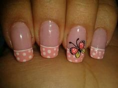 Mariposas Pretty Nail Art, Cute Nail Art, Beautiful Nail Art, Cute Nails, Toe Nail Designs, Nail Polish Designs, Nail Polish Colors, Fabulous Nails, Gorgeous Nails