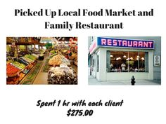 Picked up Local Food Market and Family Restaurant