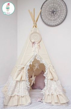 #pacztipi #pacz #teepee #tipi #wigwam #tent #crochet #pillows #stars #clouds #radosnafabryka #handmade Girls Bedroom, Bedrooms, Hanging Chair, Playroom, Home Goods, Cool Stuff, Crafts, Furniture, Houses