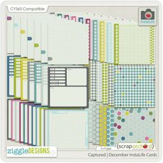 Yes! Journaling cards and products to coordinate with CaptureYour365! How exciting is that?!
