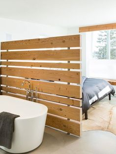 Due to the fact that many of the ideas shown here are not available for purchase, you're going to need to put on your thinking cap. You can choose from a variety of materials to make a room divider, so decide on the style and how much privacy you need.