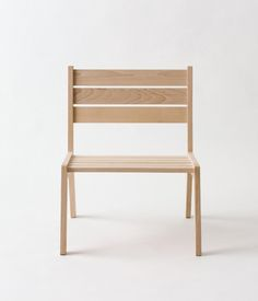 colonel chair / assembled without nails or screws