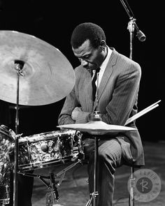 Elvin Jones, 1966. © Lee Tanner