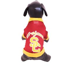 NCAA USC Trojans Athletic Mesh Dog Jersey (Team Color, X-Small) * Check out the image by visiting the link.