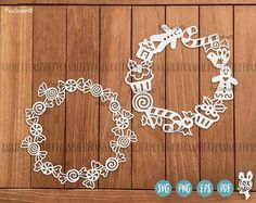 12 Christmas Blank Circle Monogram Wreath Frames SVG Bundle SET 2! | svg cut files | present, elf | Holly Wreath | Cutting Files | Cricut For personal and commercial use. -------------------------------------------------------------------------------------------------- Other BIG SVG Bundles each with 12 Wreath designs are also available! ❆ Christmas SET 1 : https://www.etsy.com/uk/listing/551016137/christmas-monogram-svg-bundle-12-blank ❆ Christmas SET 3 : http...