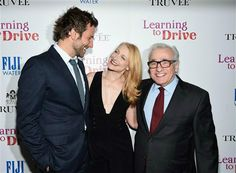 Bradley Cooper, Patricia Clarkson and Martin Scorsese attend A Celebration for Patricia Clarkson, presented by FIJI Water and Truvee Wines in New York City on Dec. 15, 2015