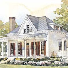 Our Top 25 House Plans | Cottage of the Year | CoastalLiving.com