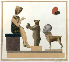 Hannah Hoch. Bold, political, and a little bit cheeky.