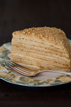 "Russian Monday: ""Medovik"" - Honey Cake at Cooking Melangery"