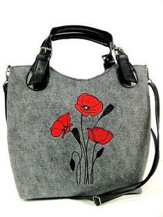 Veľká Kabelka Eko-filc Maky Backpacks, Bags, Ideas, Fashion, Felting, Handbags, Moda, Fashion Styles, Backpack
